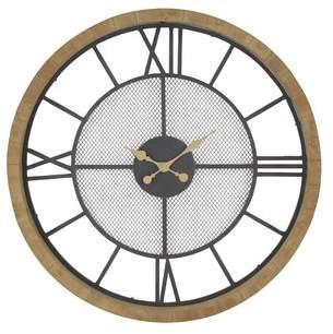 17 Stories Oversized Aezaz Contemporary Analog 40 Wall Clock