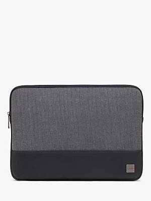 Knomo Herringbone Sleeve, for Laptops up to 14, Grey