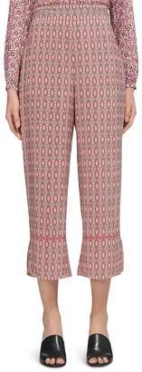 Whistles Alisha Split-Hem Trousers $199 thestylecure.com