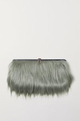 Faux Fur Clutch - ShopStyle UK baa89bbac9