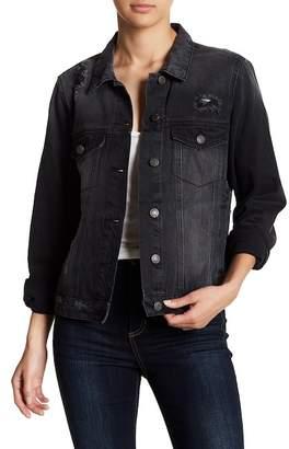 Vero Moda Mikky Distressed Boxy Denim Jacket