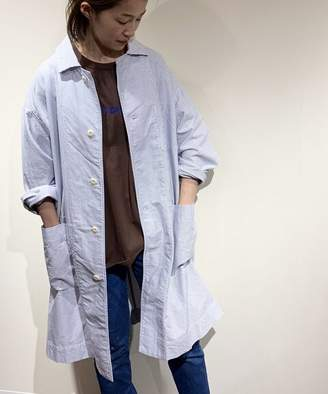 Journal Standard (ジャーナル スタンダード) - journal standard luxe 【ts(s) /ティーエスエス】 Cotton Stripe Oxford Shirt Coat◆