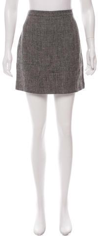 Balenciaga Balenciaga Linen Mini Skirt w/ Tags