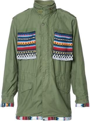 HTC Los Angeles aztec details cargo jacket