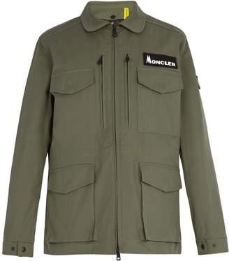 Moncler 7 FRAGMENT Patch down coat