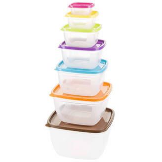 Asstd National Brand 14-Piece Square Food Storage Set