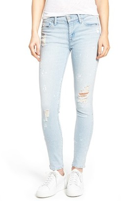 Women's Hudson Nico Ankle Skinny Jeans $235 thestylecure.com