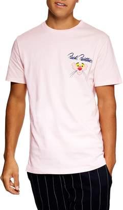 Topman Pink Panther Graphic T-Shirt