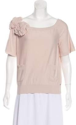 Sonia Rykiel Short Sleeve Top