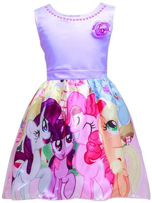 My Little Pony LEMONBABY Sleeveless Princess Birthday Party Dress