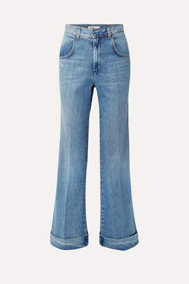 RE/DONE High-rise Flared Jeans - Mid denim