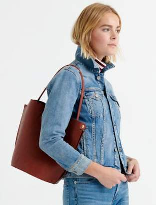 Lucky Brand STRUCTURED SHOULDER BAG WITH BUCKLE