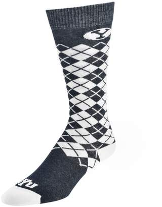 NCAA Women's Mojo BYU Cougars Argyle Socks