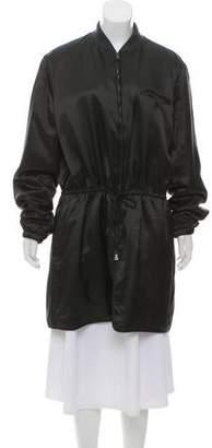Prada Drawstring Lightweight Coat