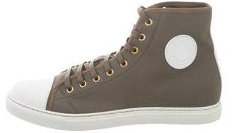 Marc Jacobs Canvas High-Top Sneakers w/ Tags