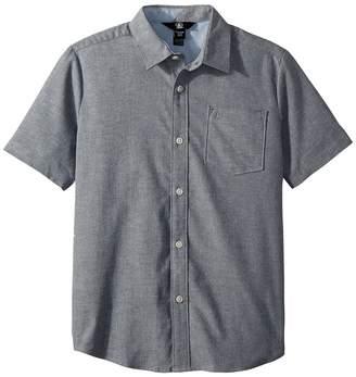 Volcom Everett Oxford Short Sleeve Shirt Boy's Short Sleeve Button Up