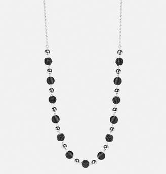 Avenue Textured Bead Rope Necklace
