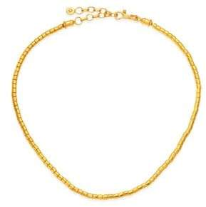 Gurhan Vertigo 24K Gold Single Strand Necklace