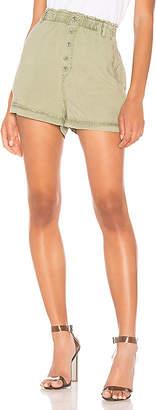 Bella Dahl Button Front High Waisted Short