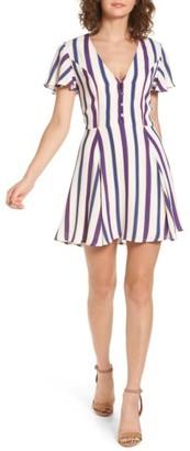 Women's Privacy Please Denny Stripe Dress $178 thestylecure.com