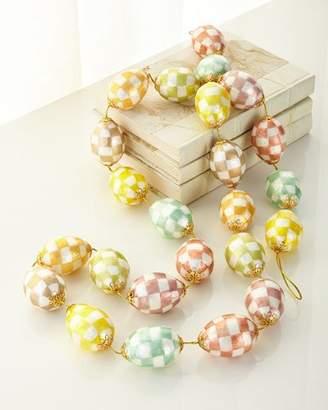 Mackenzie Childs MacKenzie-Childs Cream Eggs Garland