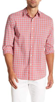 Faherty BRAND Ventura Plaid Long Sleeve Trim Fit Shirt