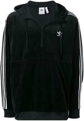 adidas Cozy zipped hoodie