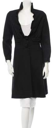Miu Miu Ruffled Coat