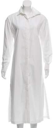 Apiece Apart Button-up Maxi Dress