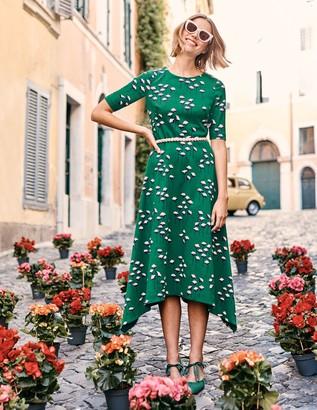 Boden Leonie Ponte Midi Dress