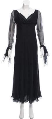 Valentino Chiffon Maxi Dress