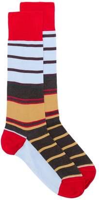 Marni striped mid calf socks