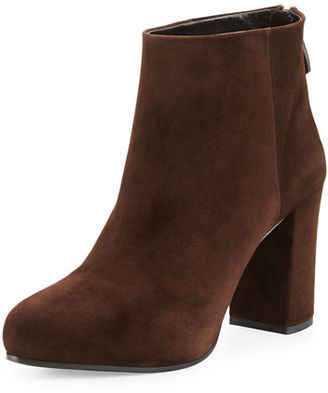Prada Suede 85mm Ankle Boot $850 thestylecure.com