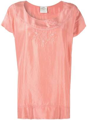 Forte Forte floral embroidered blouse