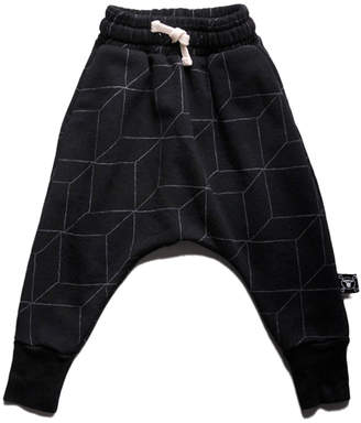 Nununu Grid Baggy Pants
