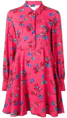 Sportmax Code short floral print shirt dress