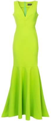 Greta Constantine Macapa V-neck gown