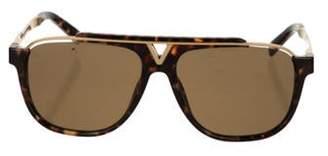Louis Vuitton Evidence Aviator Sunglasses Brown Evidence Aviator Sunglasses
