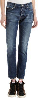 Golden Goose Star Five-Pocket Straight Leg Jeans