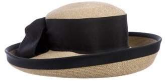 Eric Javits Straw Bow Hat