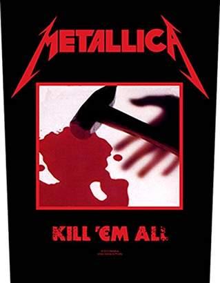 E.m. Metallica Kill 'Em All Back Patch 29.5x36cm