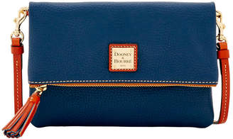 Dooney & Bourke Pebble Grain Foldover Zip Crossbody