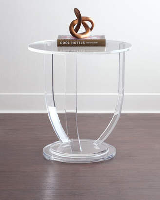 Interlude Home Tatum Acrylic Side Table