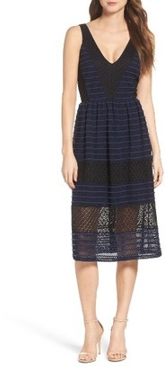 Women's Chelsea28 Lace Midi Dress $159 thestylecure.com
