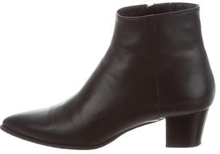Barbara BuiBarbara Bui Leather Pointed-Toe Ankle Boots