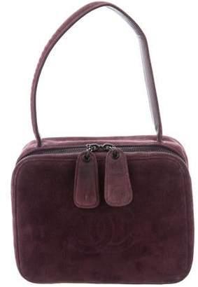Chanel Suede Handle Bag