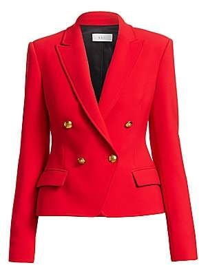 A.L.C. Women's Hendrick Double Breasted Blazer - Size 0