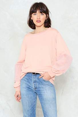 Nasty Gal How Low Can You Faux Fur Sweater