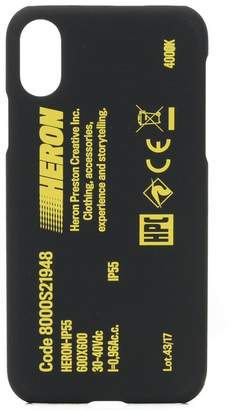 Heron Preston iPhone X ケース