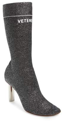 Vetements Lurex Sock Boot
